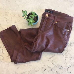 Seven jeans faux suede pants